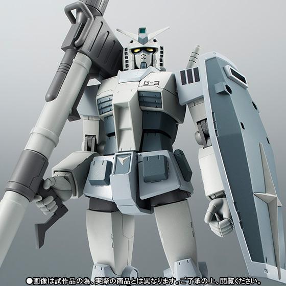 Gundam RX-78-3 G-3 ver. A.N.I.M.E. ROBOT SPIRITS SIDE MS Bandai Itakon.it -0001