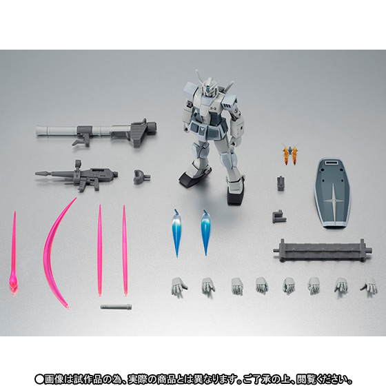 Gundam RX-78-3 G-3 ver. A.N.I.M.E. ROBOT SPIRITS SIDE MS Bandai Itakon.it -0010