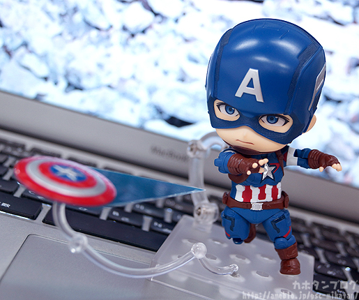 Nendoroid Captain America - Avengers - Good Smile Company gallery 05