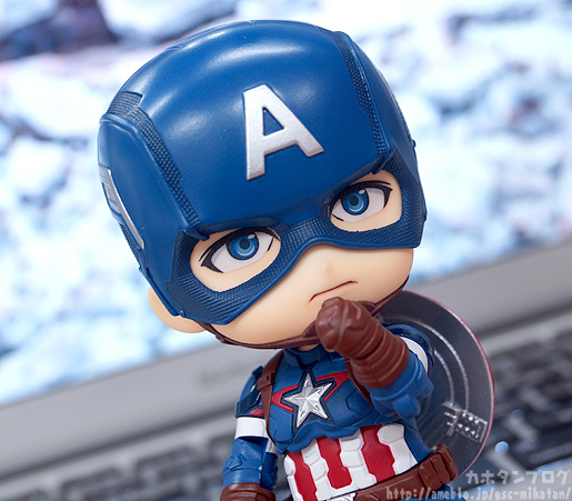 Nendoroid Captain America - Avengers - Good Smile Company gallery 06