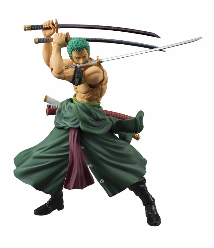 Roronoa Zoro Variable Action Heroes di MegaHouse ristampa Itakon.it -0006