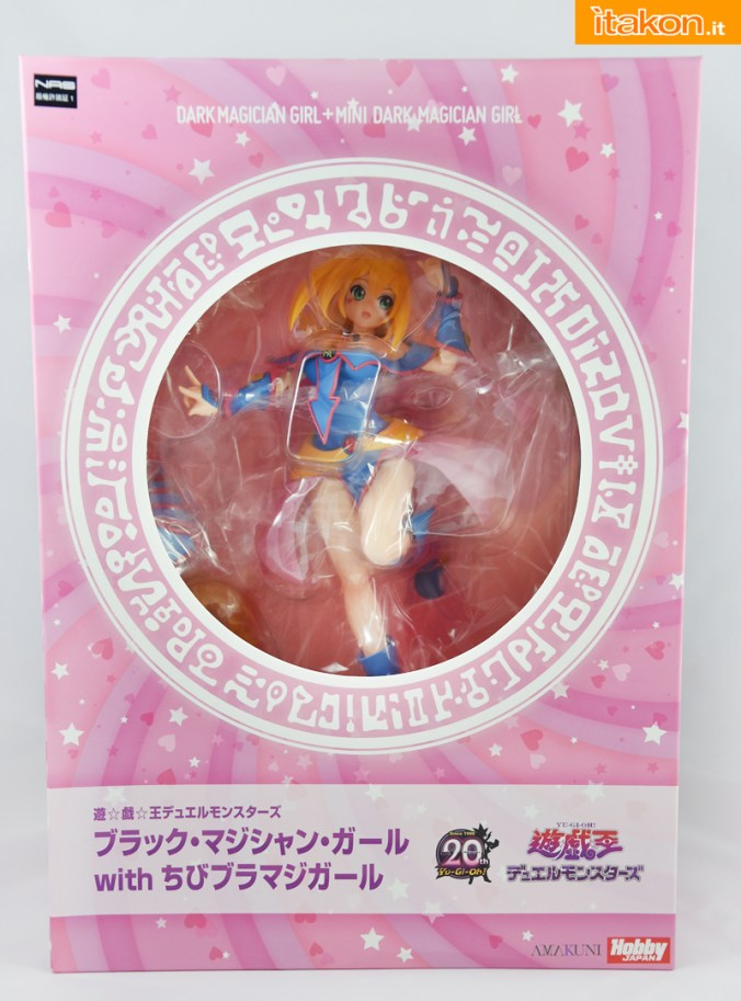 Dark Magician Girl - Amakumi x Hobby Japan - Recensione - Foto 01