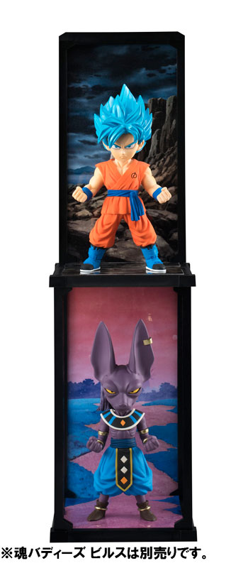 Goku Super Saiyan God SS Tamashii Buddies Dragon Ball Super Bandai pre 05
