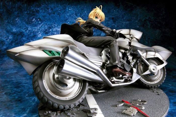 Saber & Saber Motored Cuirassier Fate ZERO GSC rerelease 03