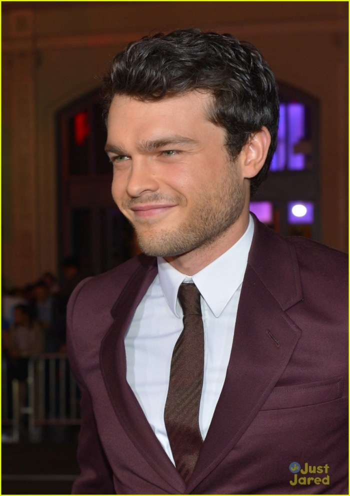 "HOLLYWOOD, CA - FEBRUARY 06:  Actor Alden Ehrenreich attends the Los Angeles premiere of Warner Bros. Pictures' ""Beautiful Creatures"" at TCL Chinese Theatre on February 6, 2013 in Hollywood, California.  (Photo by Alberto E. Rodriguez/Getty Images)"