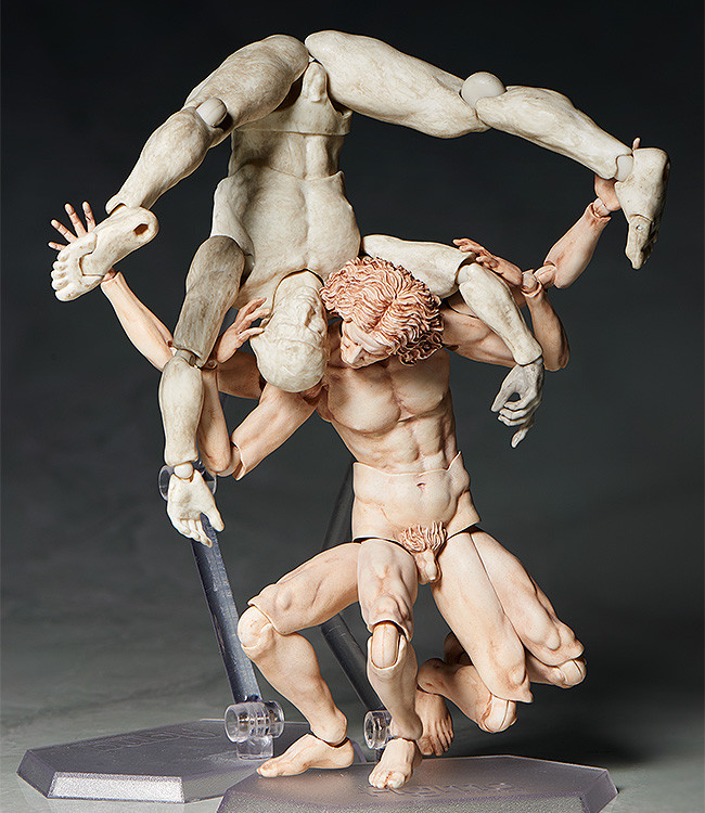 figma VItruvian Man The Table Museum FREEing pre 05