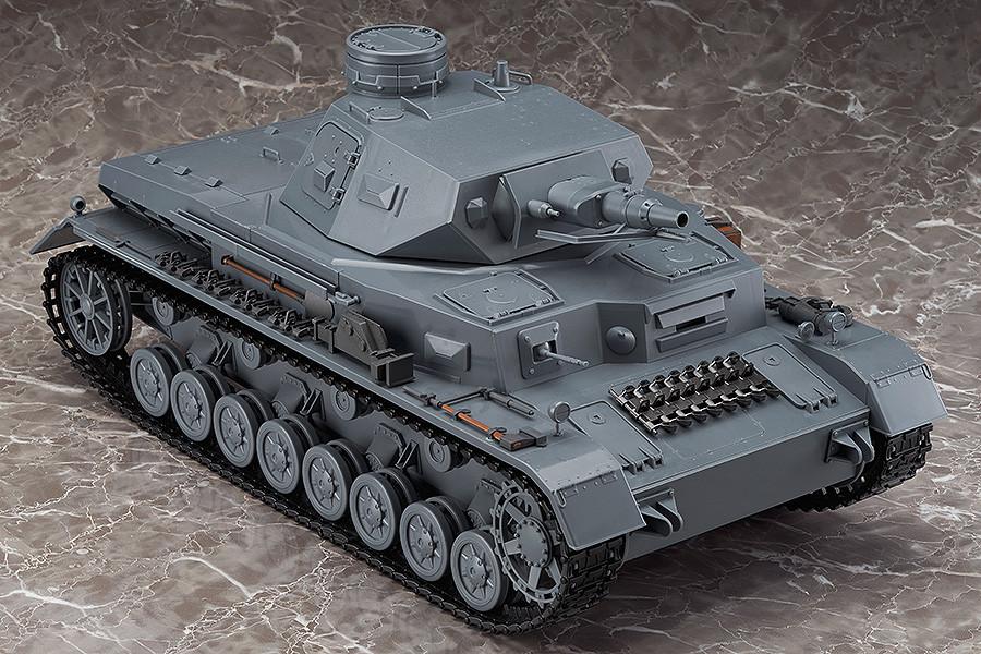 figma Veichles Panzer IV Ausf D Tank Equipment Set Brown 03