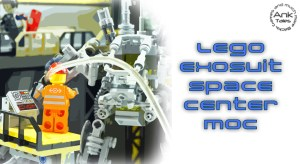 LEGO City Space Center MOC- Hangar Exo Suit