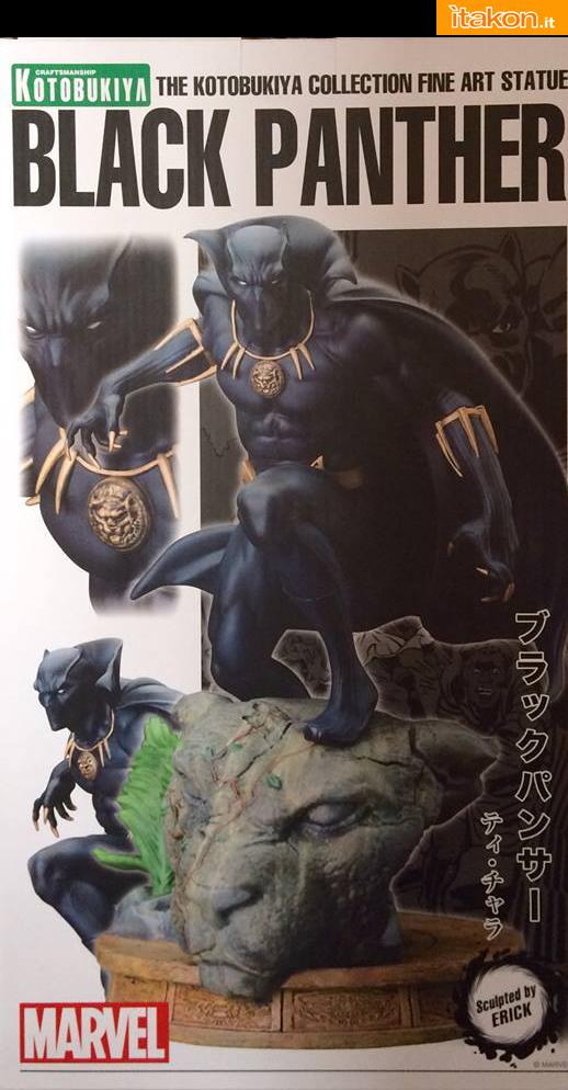 Marvel Comics Black Panther Fine Art Statue - Kotobukiya - Recensione Bossborot - Foto 01