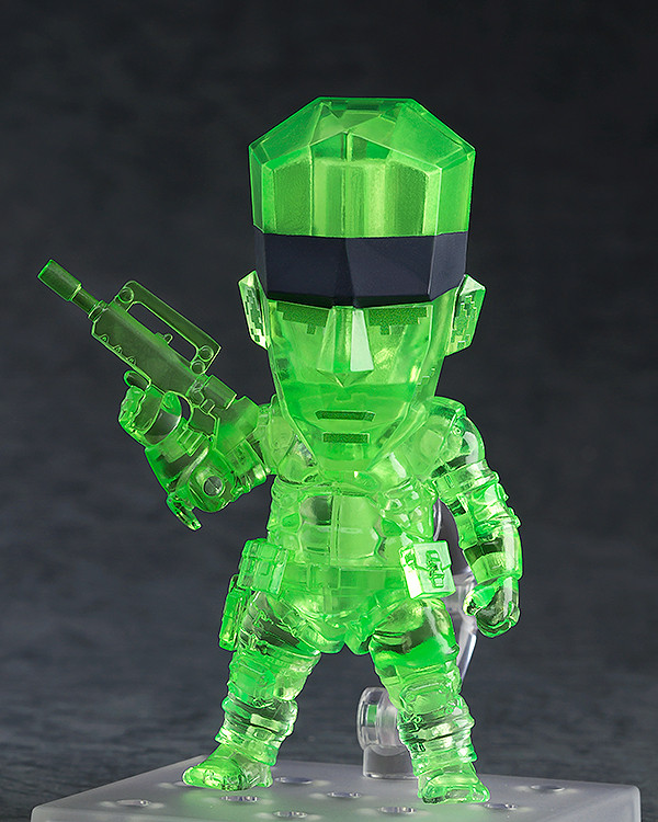 Nendoroid Solid Snake Stealth Camouflage GSC pre 02