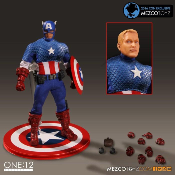 Marvel Comics – Classic Captain America One:12 Collective Figure