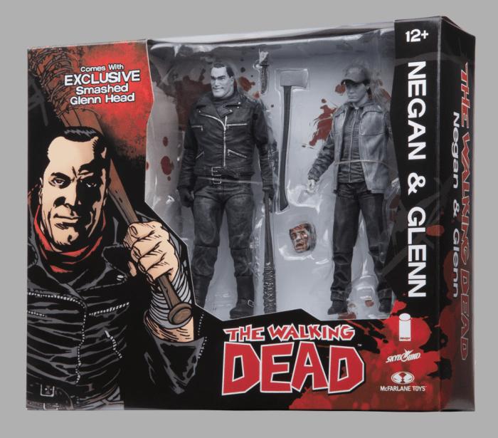SDCC16-Walking-Dead-Skybound-Negan-and-Glenn-BW-001