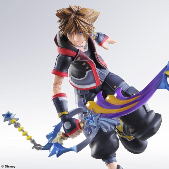 Kingdom Hearts III - Sora - Play Arts Kai - Square Enix - Foto 02