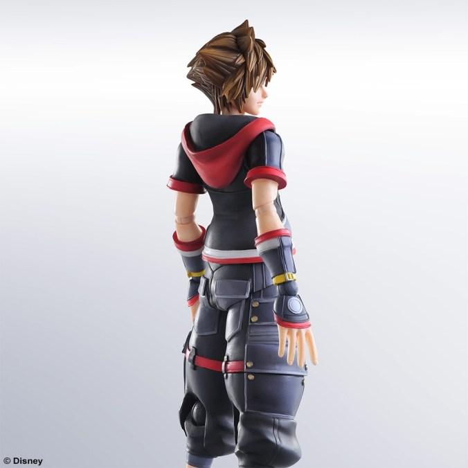 Kingdom Hearts III - Sora - Play Arts Kai - Square Enix - Foto 04