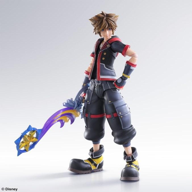 Kingdom Hearts III - Sora - Play Arts Kai - Square Enix - Foto 09