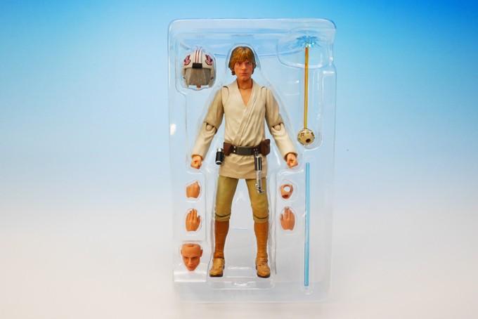 Luke Skywalker SH Figuarts Bandai pics 02