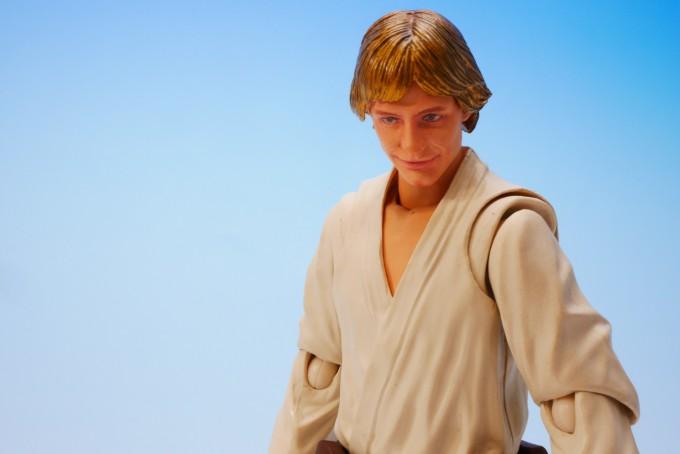 Luke Skywalker SH Figuarts Bandai pics 10