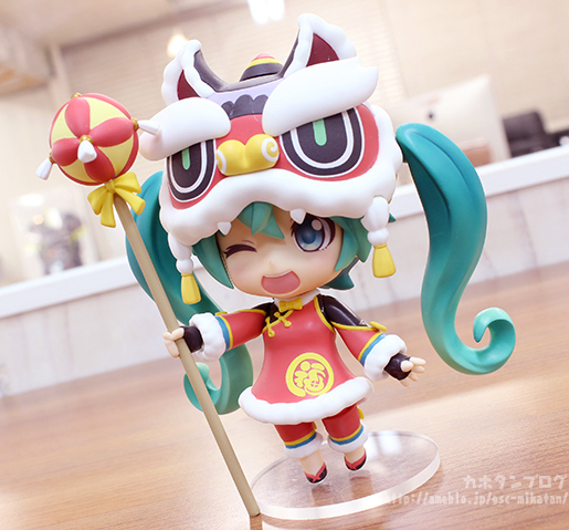 Nendoroid Miku Hatsune Lion Dance GSC preview 12
