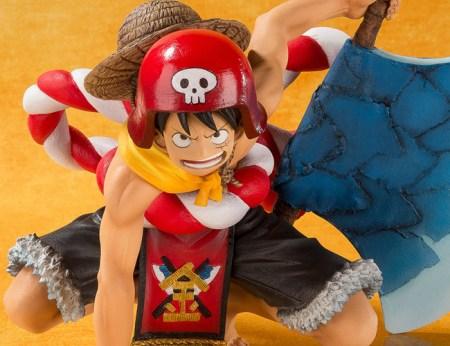 One Piece Gold Monkey D Luffy Figuarts ZERO bandai pics 20
