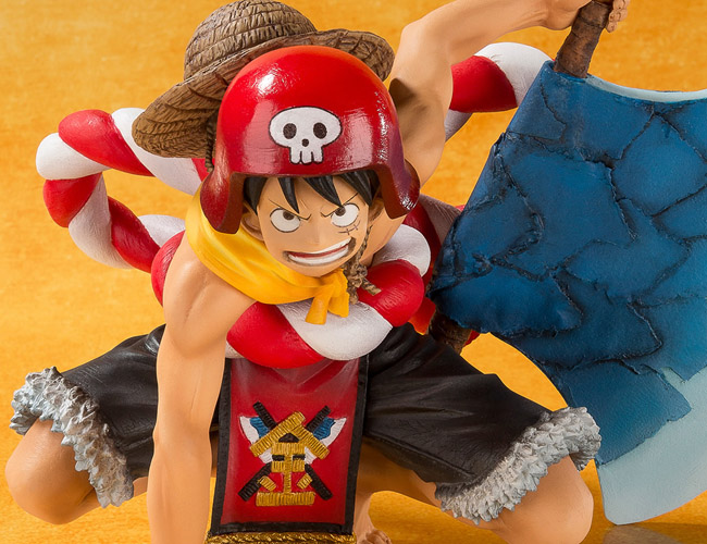 One Piece Gold Monkey D Luffy Figuarts ZERO bandai pics 20
