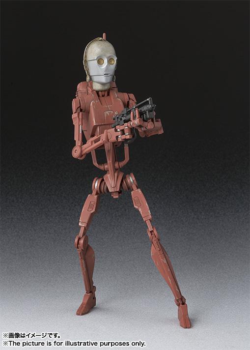 Star Wars Battle Droid Geonosis SH Figuarts Bandai pics 02