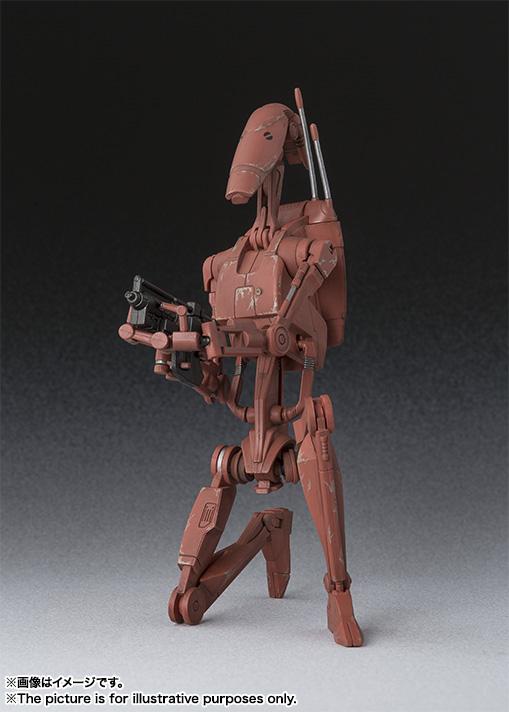 Star Wars Battle Droid Geonosis SH Figuarts Bandai pics 03