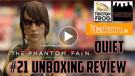 "Video Recensione: Quiet 1/6 da ""Metal Gear Solid V: The Phantom Pain"" di Gecco!"