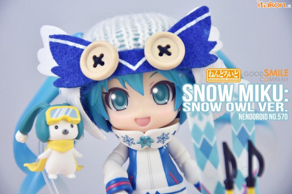 Snow Miku Owl Ver - Nendoroid 570 - Good Smile Company - Recensione - Foto 77
