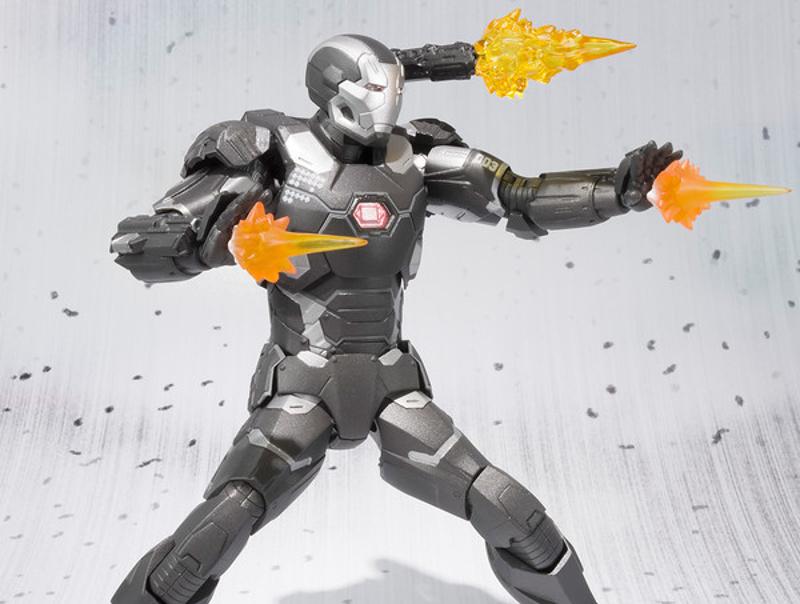 War Machine Mark 3 - S.H. Figuarts di Bandai-evi