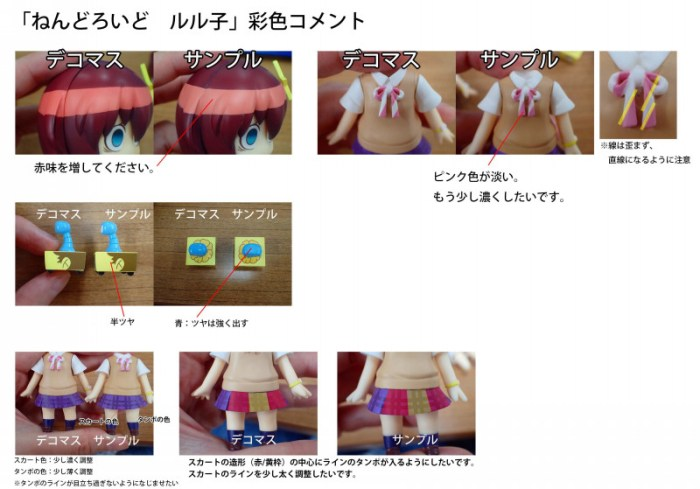 Nendoroid Luluco production GSC 10