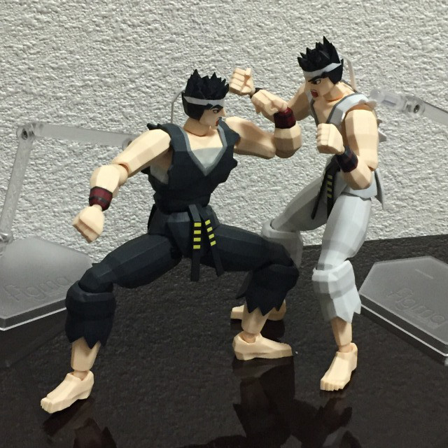 figma FREEing Virtua Fighter released 12