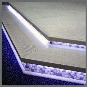 step edges trims italcotto