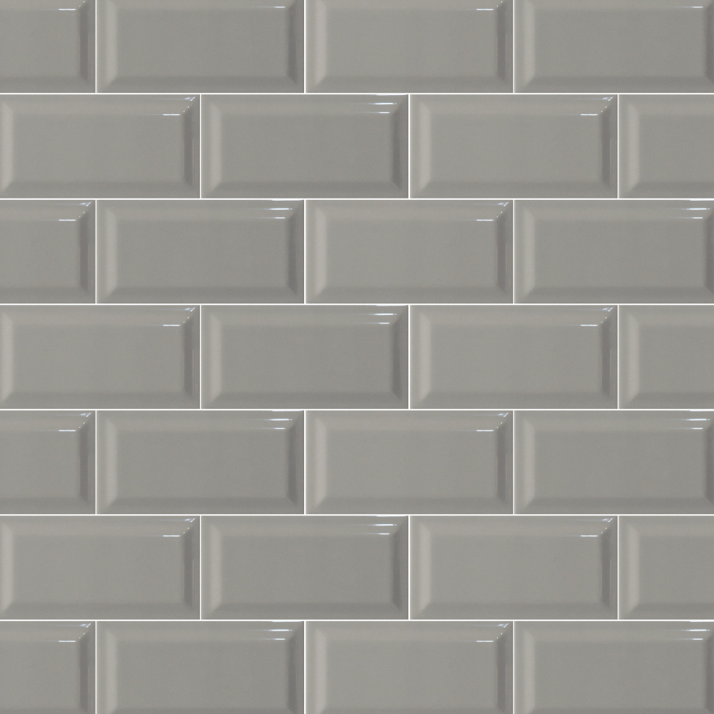 Metro mid grey Bevel gloss 75X150  Italcotto