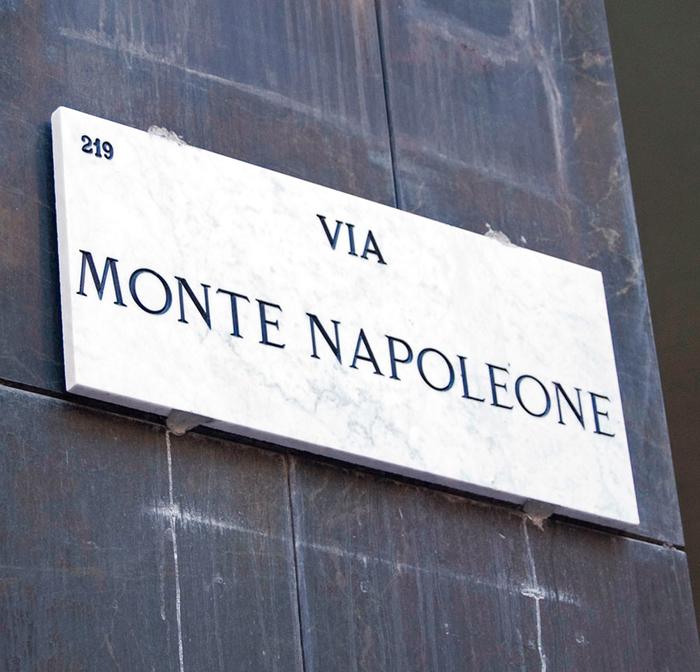 Милан, Виа Монтенаполеоне