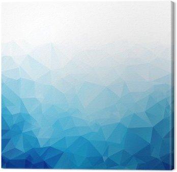 Quadri Su Tela Geometrica Blu Ghiaccio Texture Di Sfondo Six Seconds