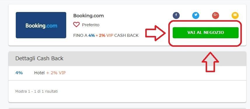 siti di cashback per i viaggi