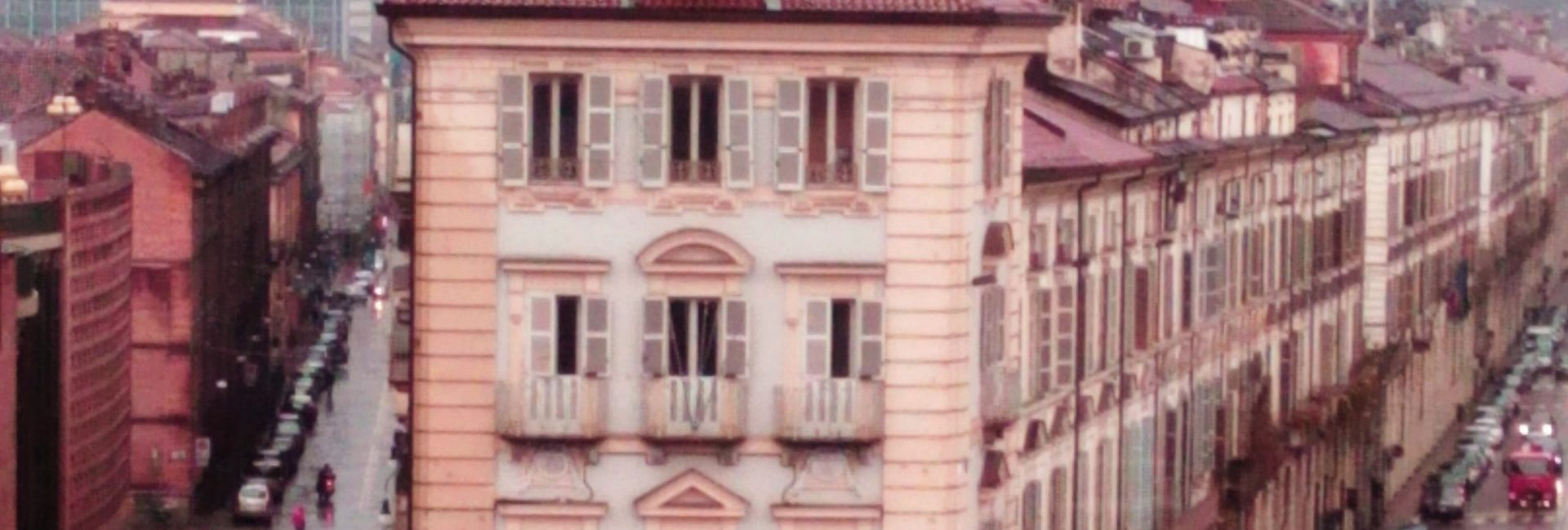 Torino - veduta da una finestra di Palazzo Madama