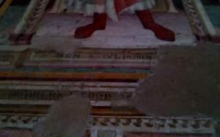 San Miniato al Monte, nei dintorni di Firenze - particolare degli affreschi