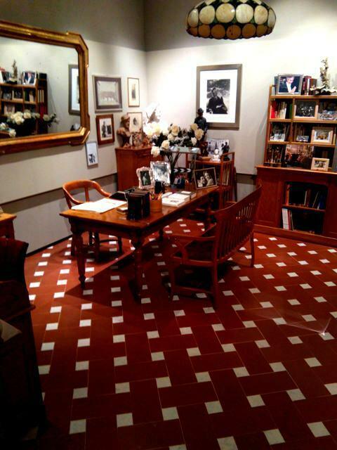 l'ufficio di Franco Zeffirelli ricostruito