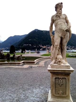 ottobre a Villa Olmo, sul lago di Como