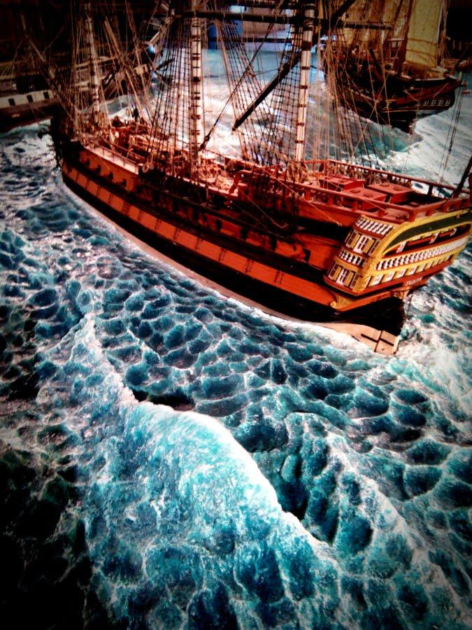 Museo del Mare di Genova - simulazione del movimento e dei fenomeni marini