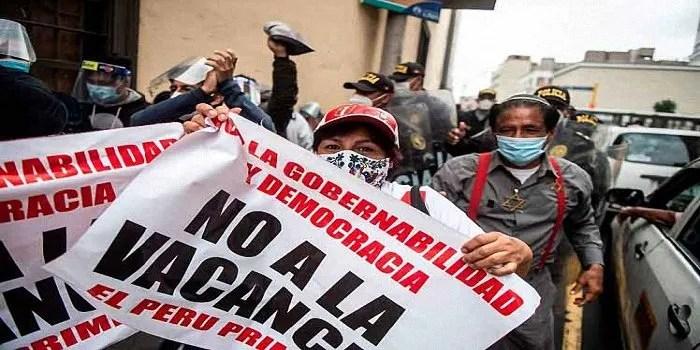 Giornata nazionale delle marce di protesta in Perù -