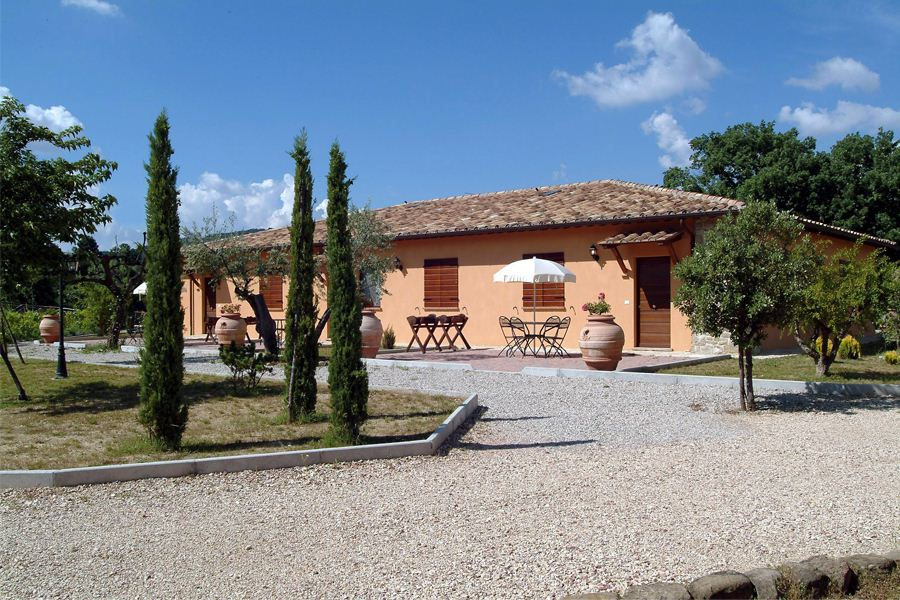 Offerte di Capodanno alla Country House a Collazzone in Umbria