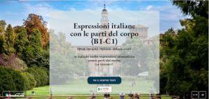 ¿Puedes abordar partes del cuerpo en italiano? ejercicio libre