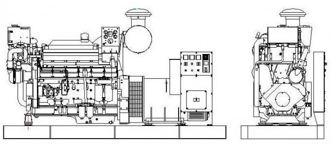 tipo silenzioso di Weathproof del generatore diesel della