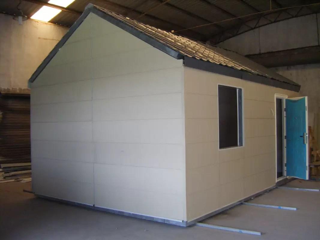 Case modulari mobili leggere della struttura dacciaiopiccola Camera prefabbricata modulare