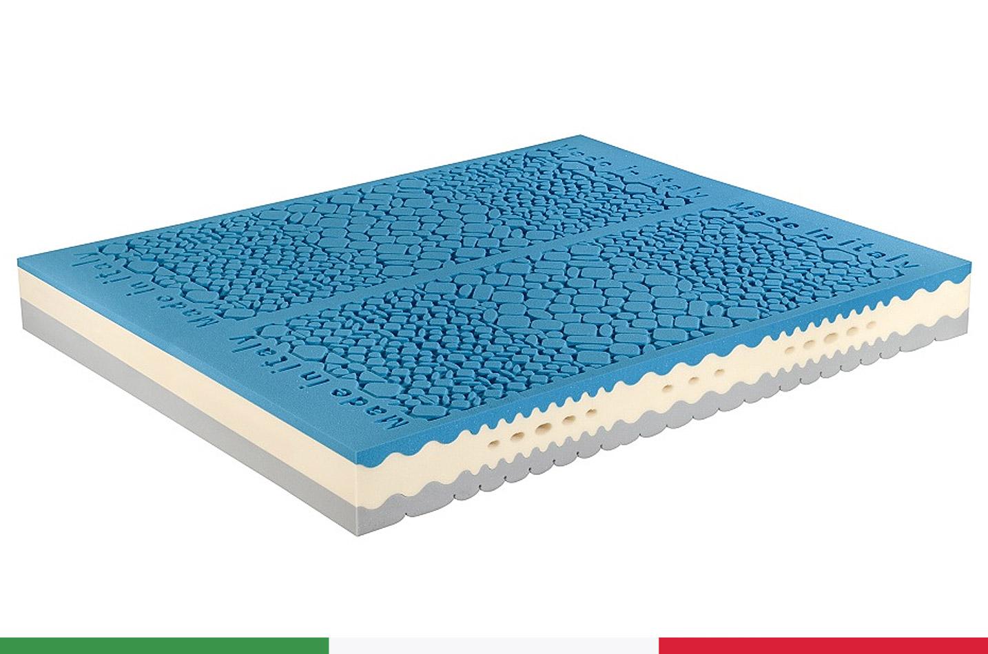 materasso memory ortopedico sanitario super gel  Italiana