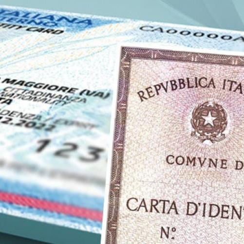 Traduzione online della carta d'identità