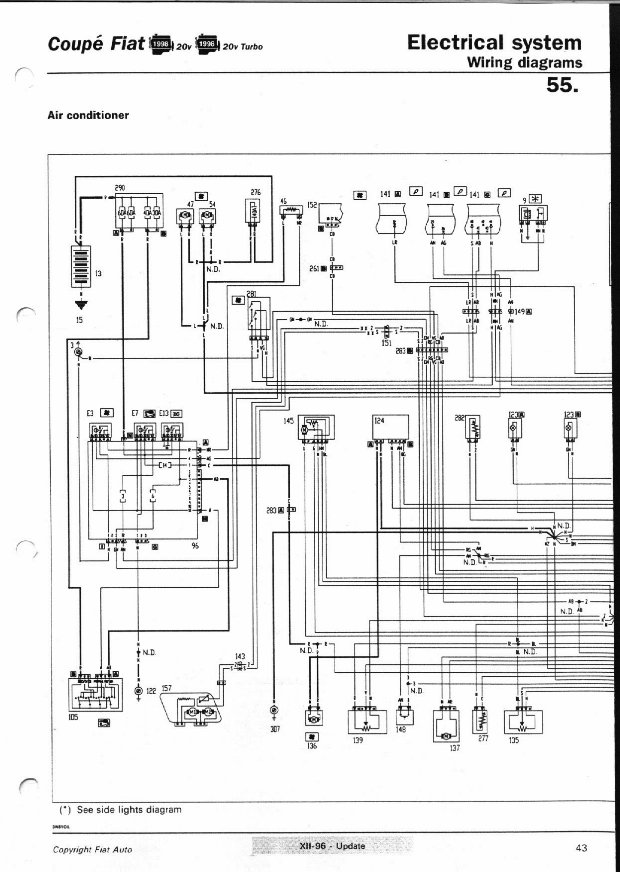 20 valve wiring diagrams pages 41 to 47