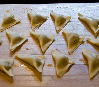 Tortellini Folded